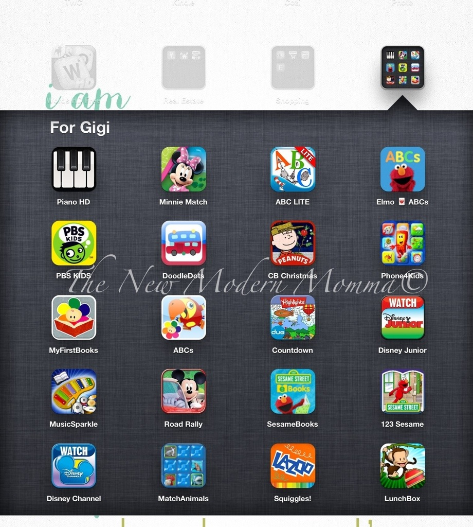 Toddler iPad Apps