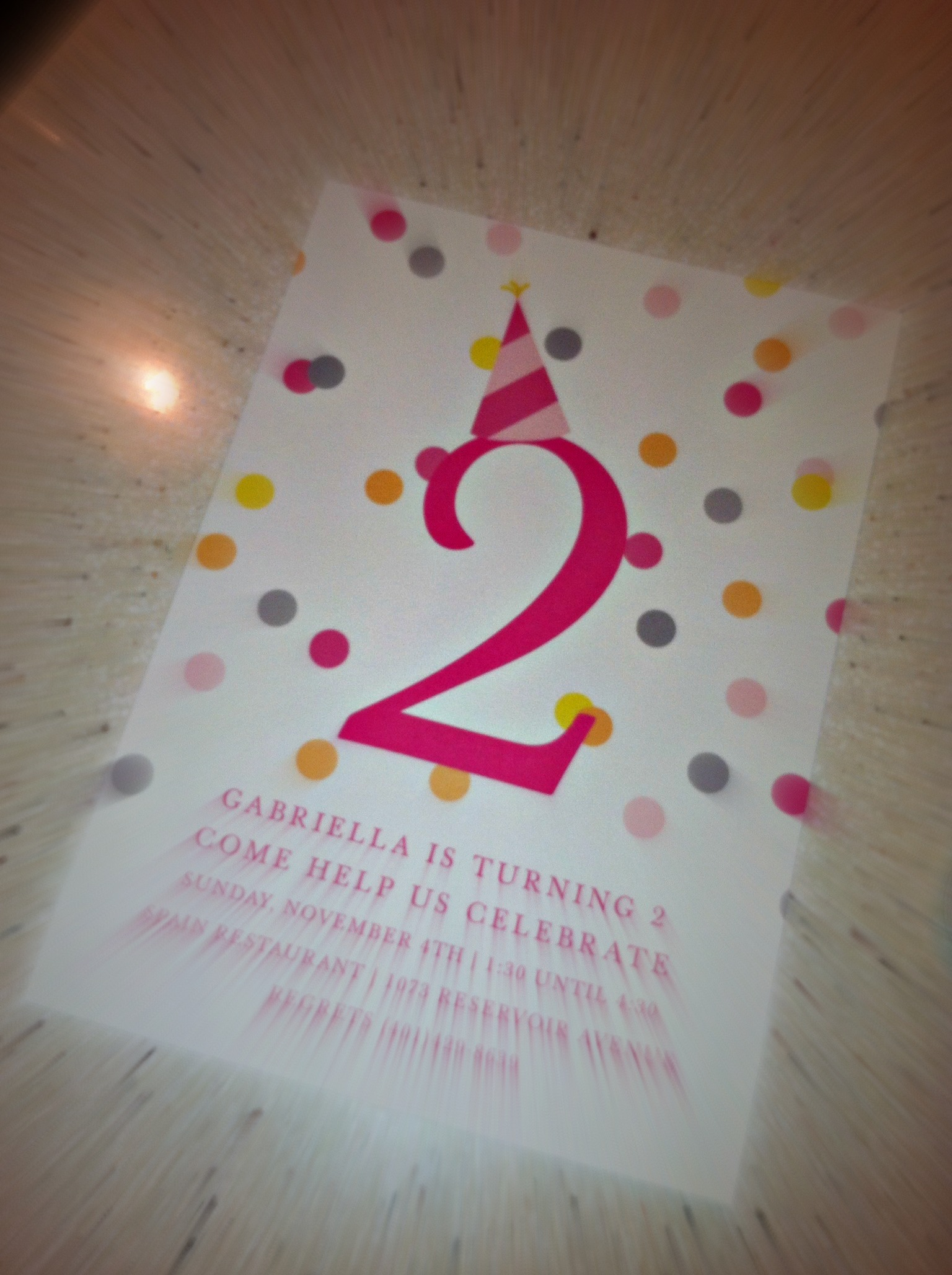 Gabriella's Birthday Cards are Here!