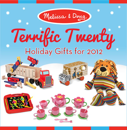 Melissa & Doug Terrific Twenty Holiday Gifts 2012 & GIVEAWAY!!