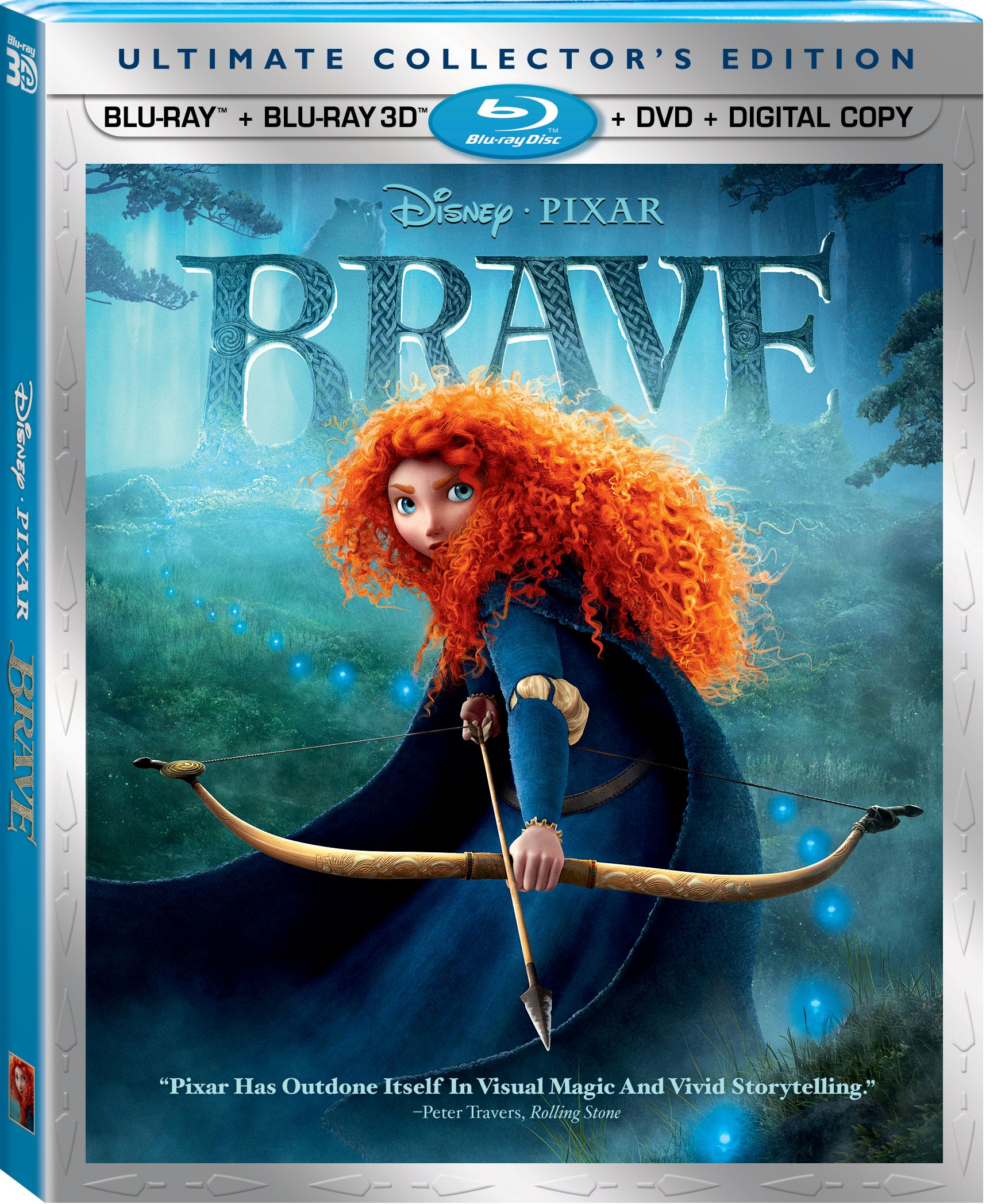 Disney/Pixar's BRAVE Ultimate Collector's Edition 5-Disc Set {Giveaway}