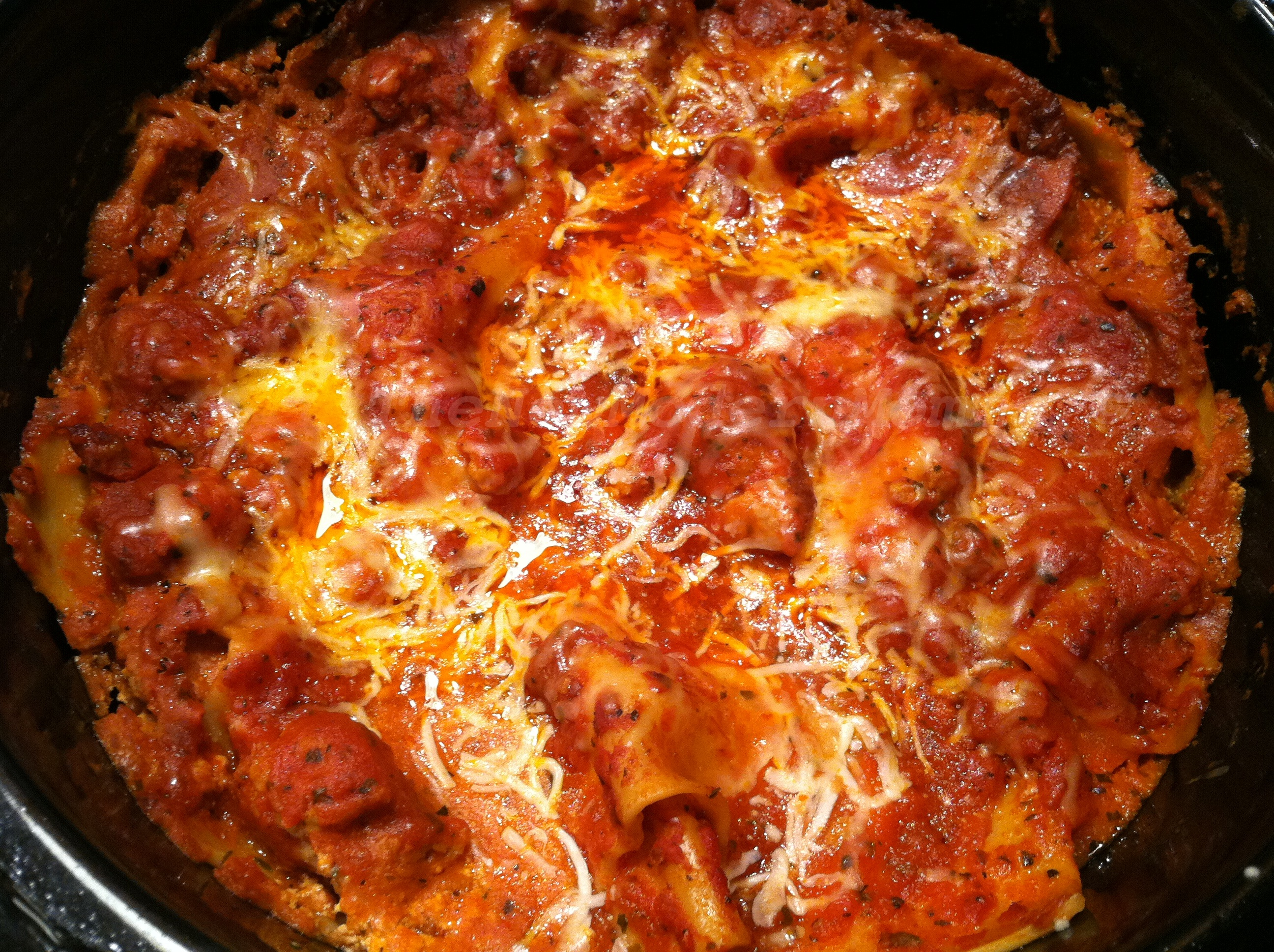Crock Pot Lasagna | #TastyTuesday Recipe Swap