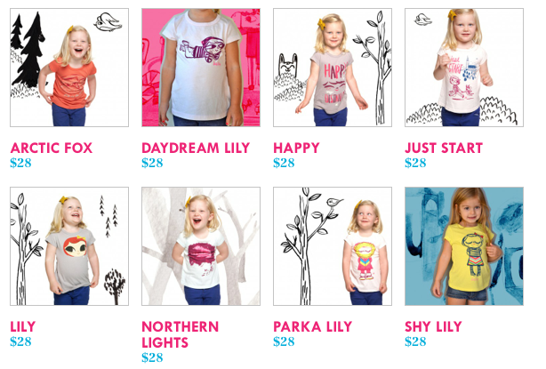 Lately Lily T-shirts
