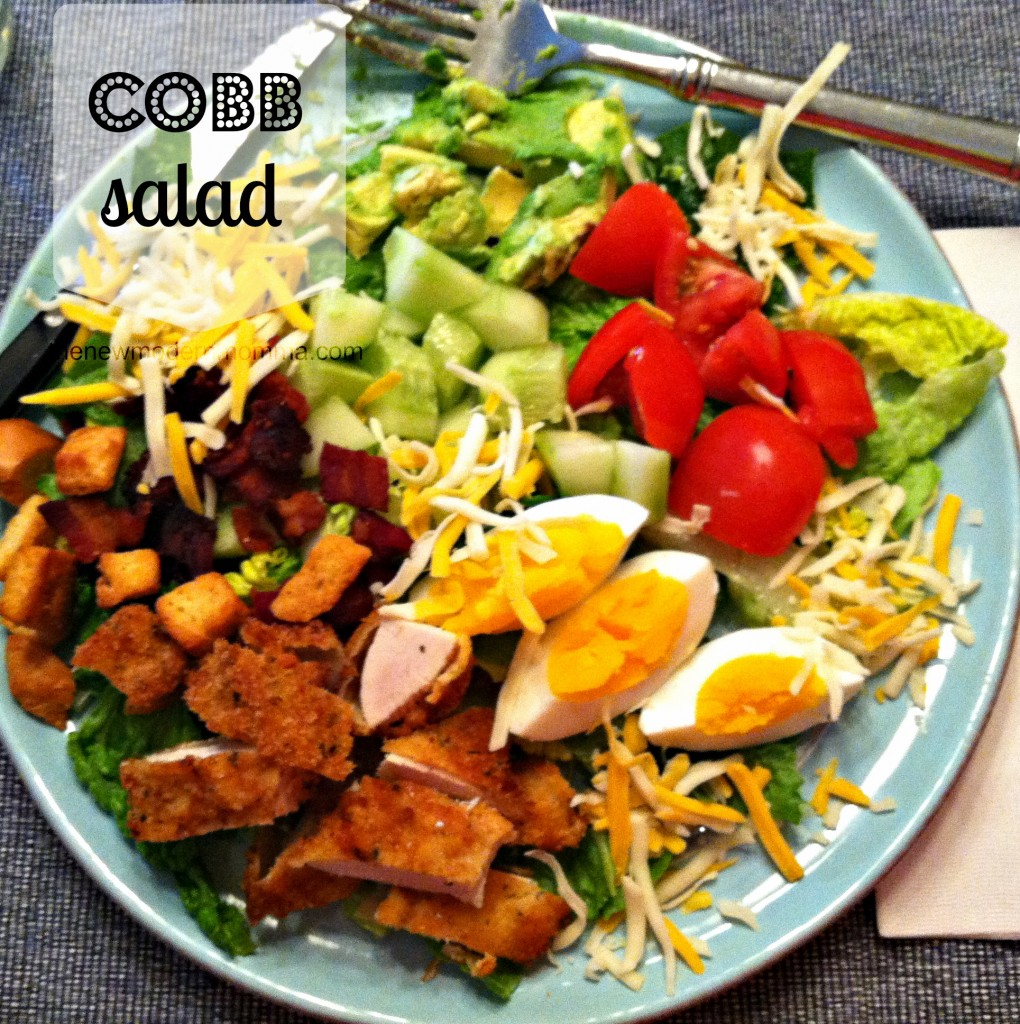 Cobb Salad :: Tasty Tuesday :: via @thenewmodernmom