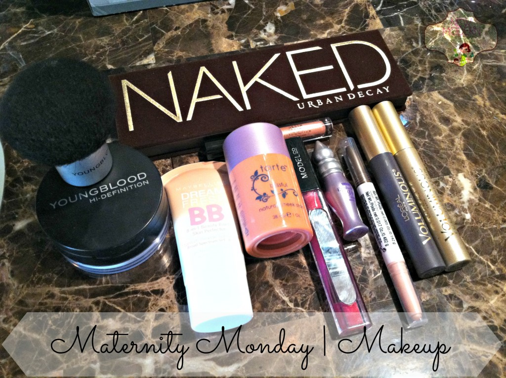 Maternity Monday | Let's Talk Makeup via @thenewmodernmom