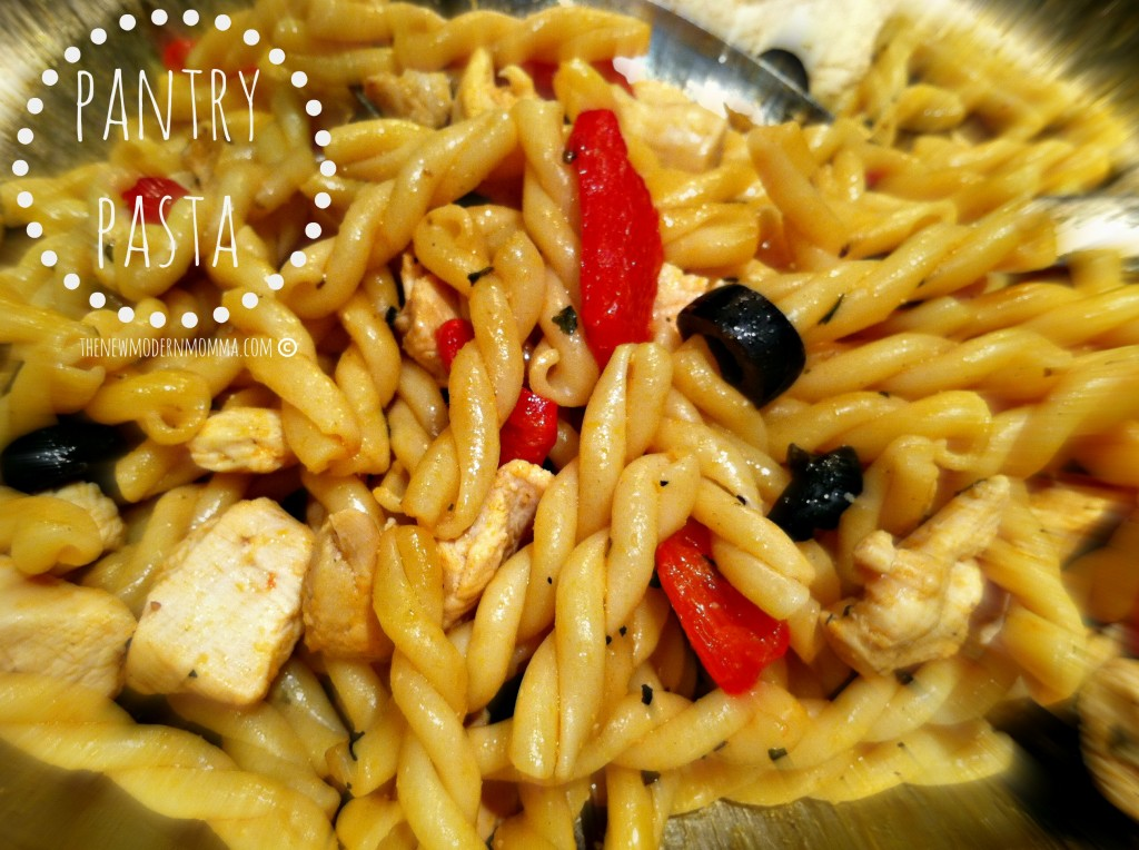 pantry pasta via @thenewmodernmom #tastytuesday #recipe