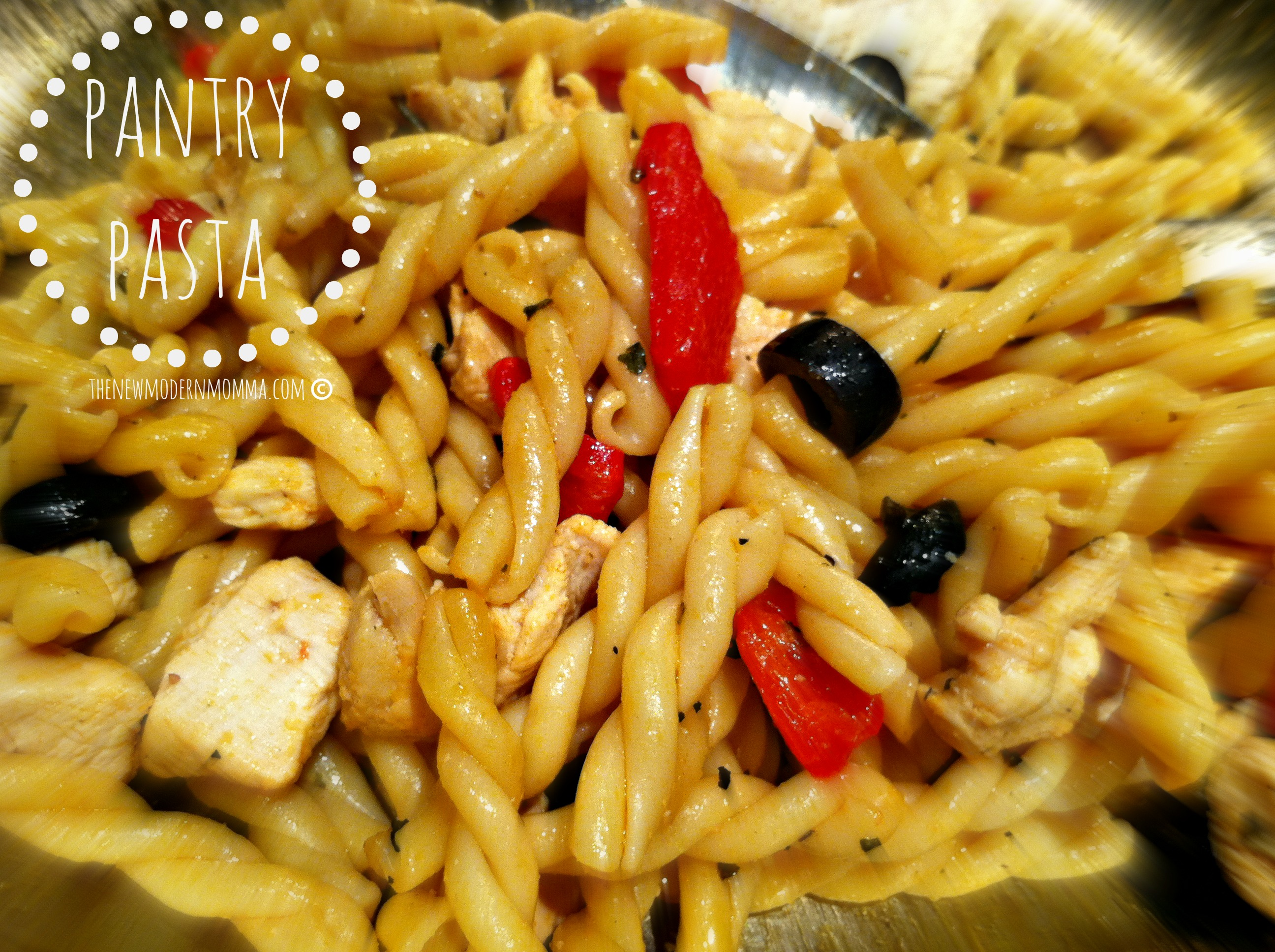 Pantry Pasta :: Tasty Tuesday Recipe Swap!