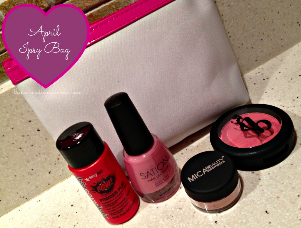 April @ipsy Bag via @thenewmodernmom #beauty