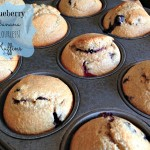 blueberry banana flourless muffins