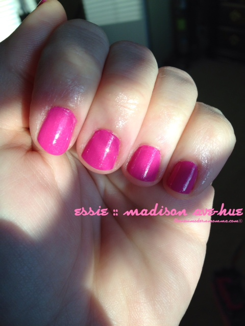 essie madison ave-hue :: the nail files :: via @thenewmodernmom
