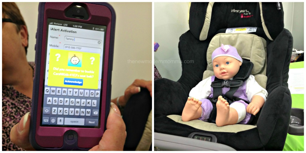 The First Years True Fit IAlert C685 Car Seat