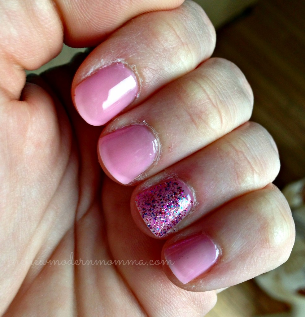 The Nail Files! Sally Hansen Rockstar Pink and SATION of Corset I'll Call You! #beauty via @thenewmodernmom