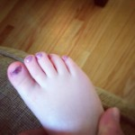 The Nail Files :: Toddler Toes