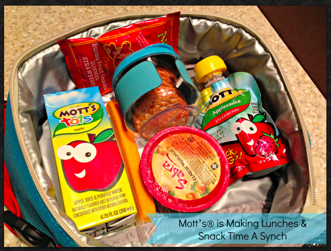 Mott's® is Making Lunches and Snack Time A Synch