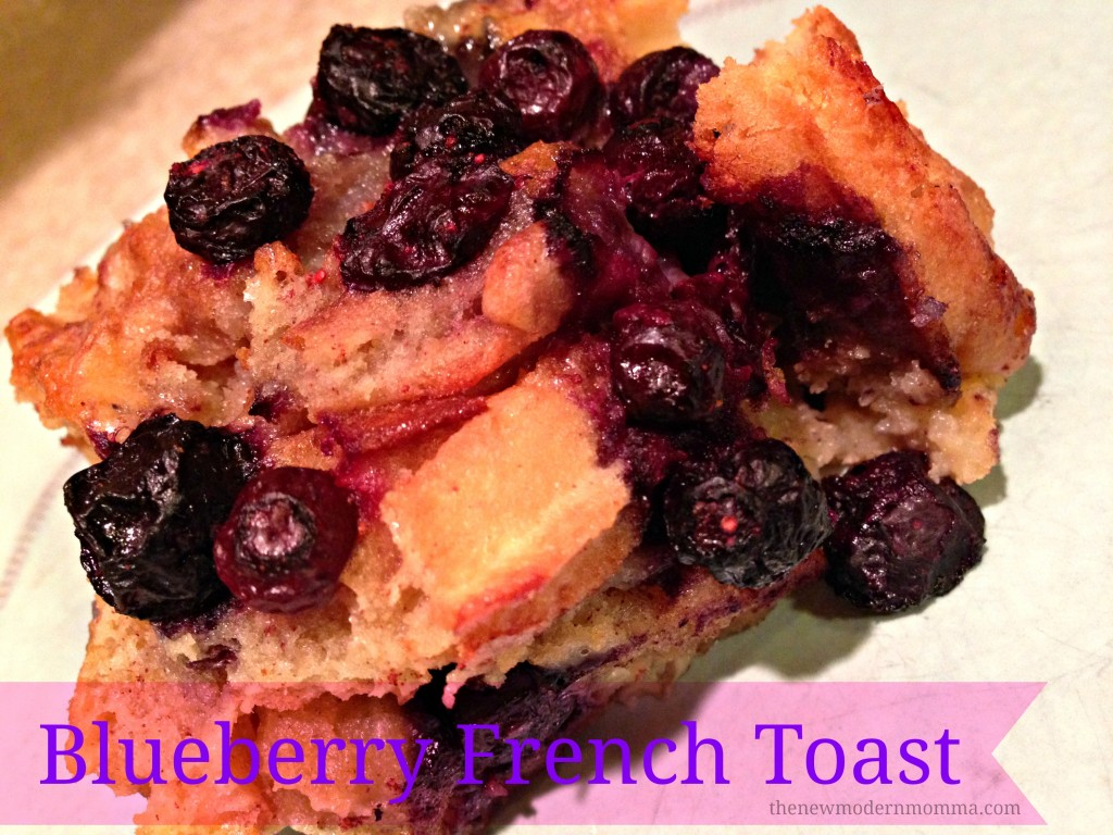 blueberry french toast featuring #eggo waffles via @thenewmodernmom