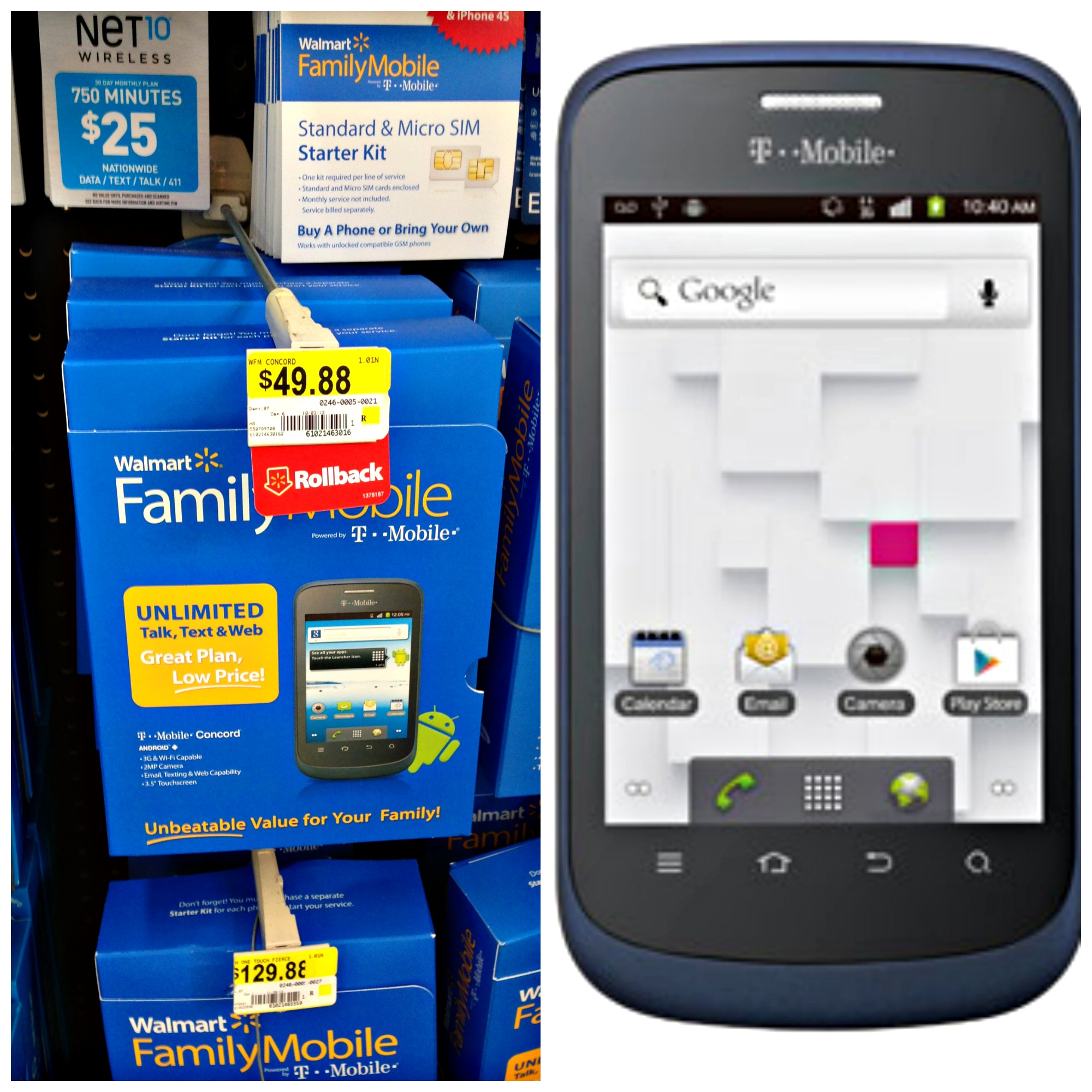 Walmart Family Mobile :: The Best Wireless Plan Gift for the Holiday!