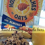 heart healthy granola bars