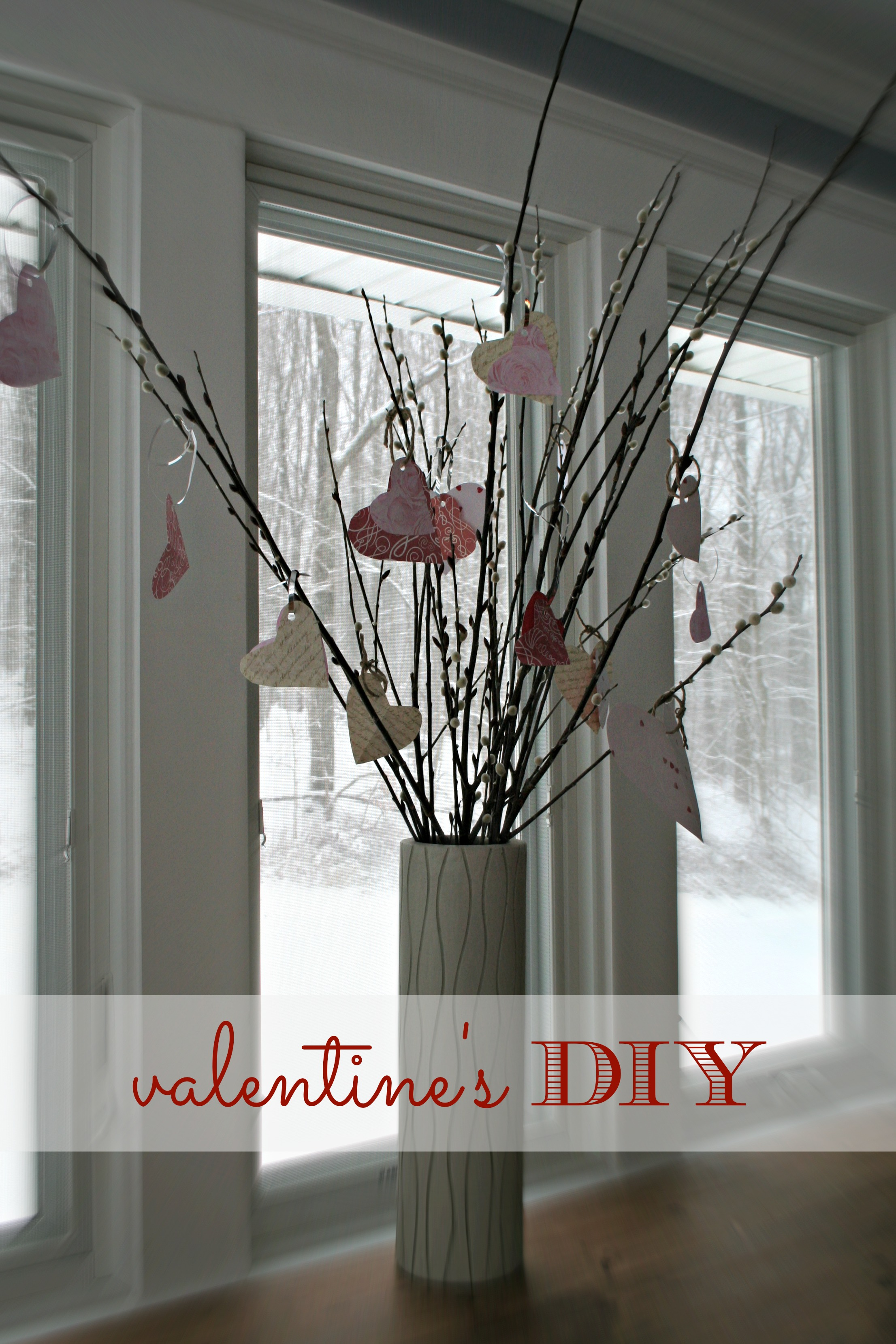 Bring the Outdoors in // Valentines Day {DIY}