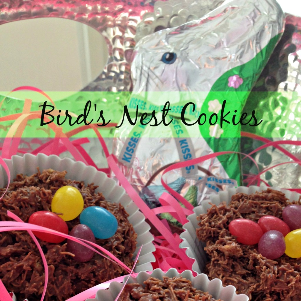 birds nest cookies