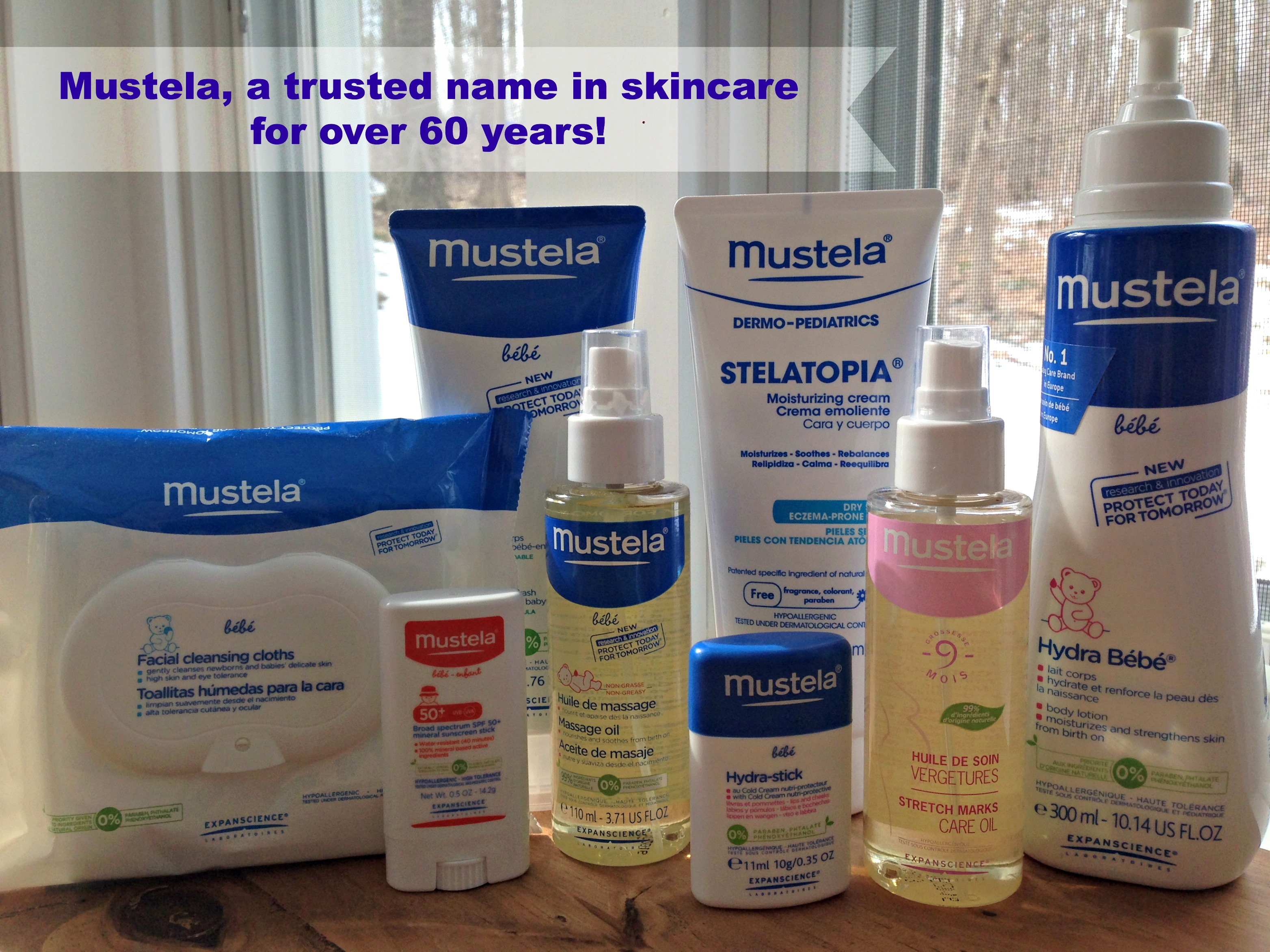 Mustela // Our Favorite Brand of Skincare!