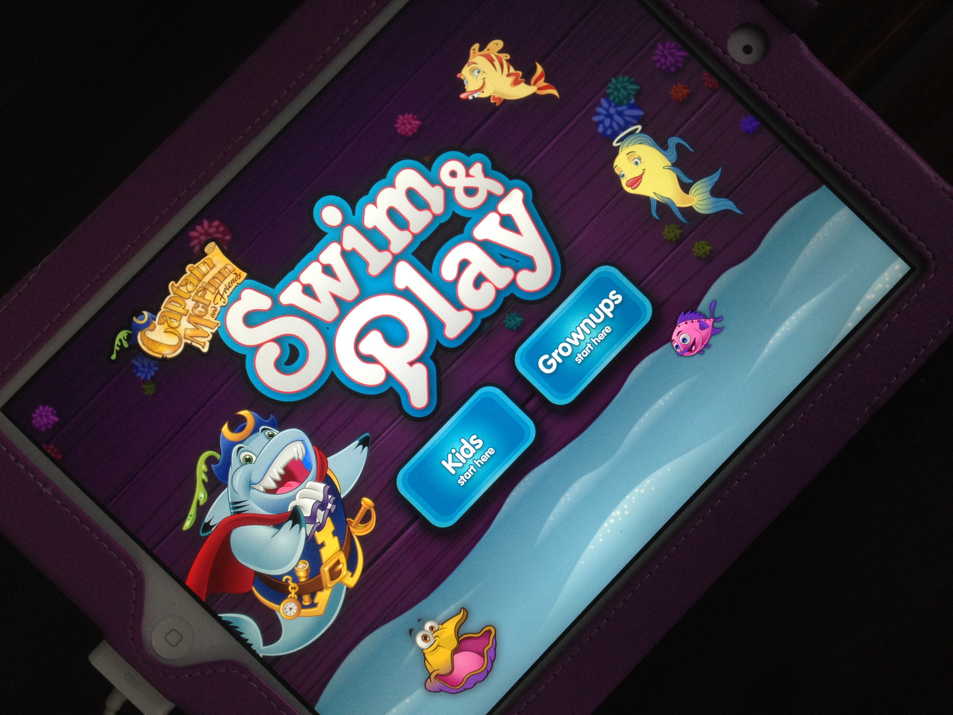 Captain McFinn Swim & Play App!