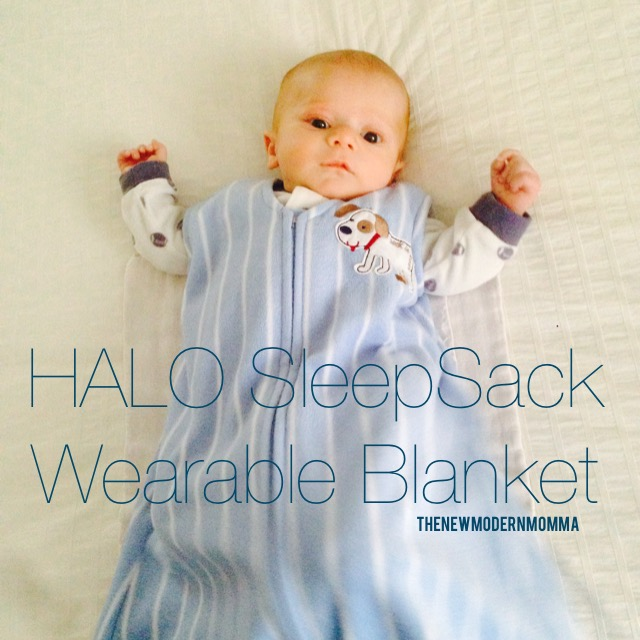 HALO SleepSack Keeping Anthony Safe and Warm
