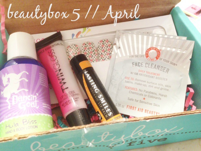 BeautyBox 5 // April Box Reveal!