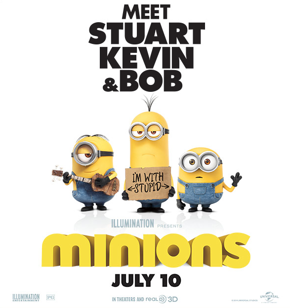 MINIONS – Watch the New Trailer!