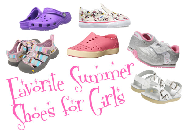 My Favorite Summer Shoes for Girls
