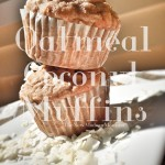 oatmeal coconut muffins