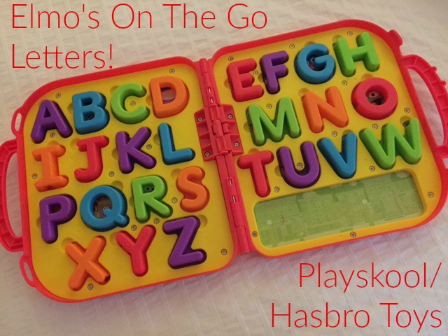My kids love elmo s on the go letters alphabet toy the for Elmo abc