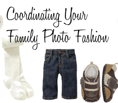 Coordinating Your Family Photo Fashion