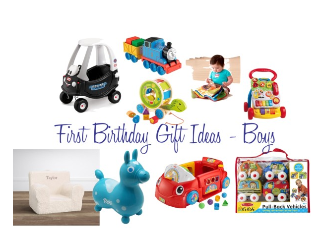 First Birthday Gift Ideas // Boys
