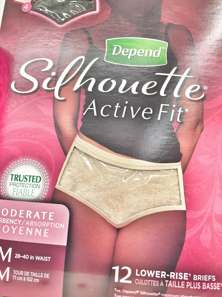 Depend #Underwareness