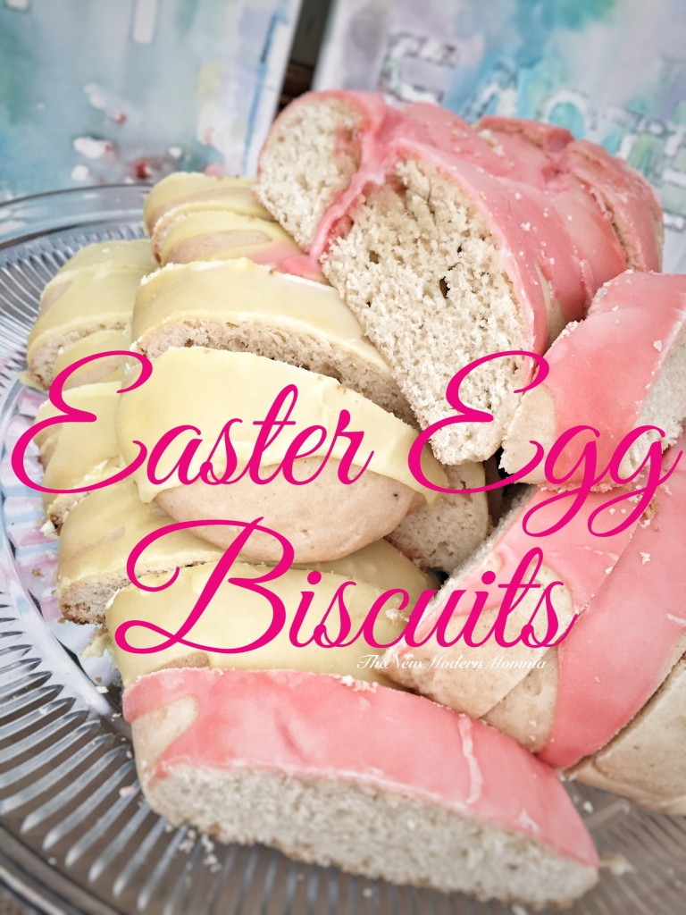 Easter Egg Biscuits The New Modern Momma