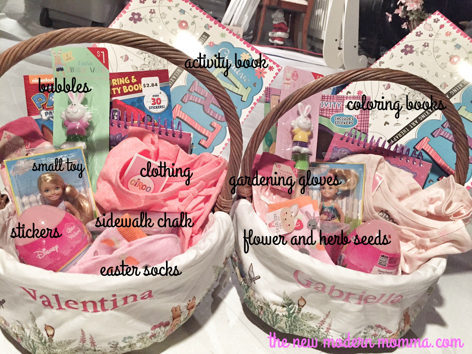 Non candy easter basket ideas negle Gallery