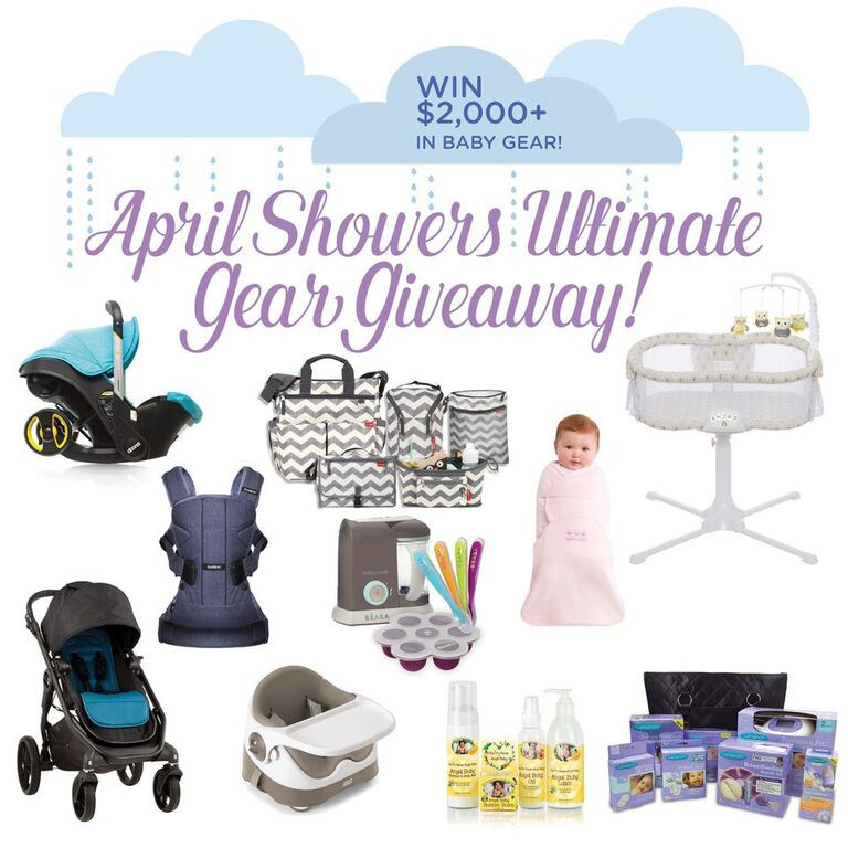 April Showers Ultimate Gear Giveaway – $2,000 Giveaway Extravaganza