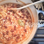 Tasty Tuesday // Pasta e Fagioli (Pasta & Bean Soup)