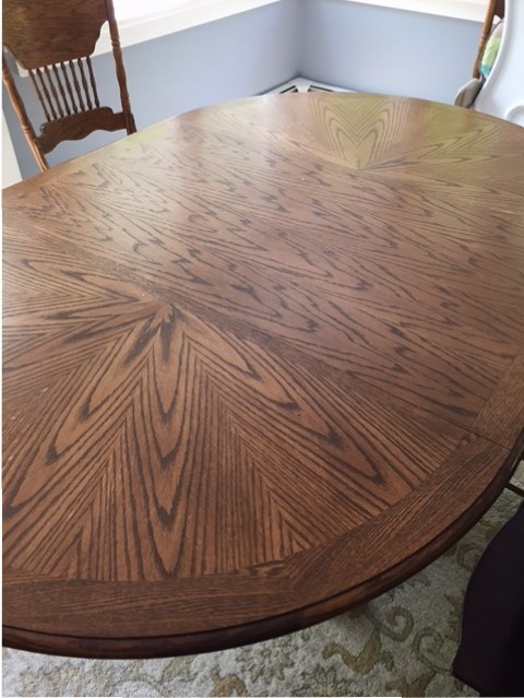 dining room table makeover - the new modern momma