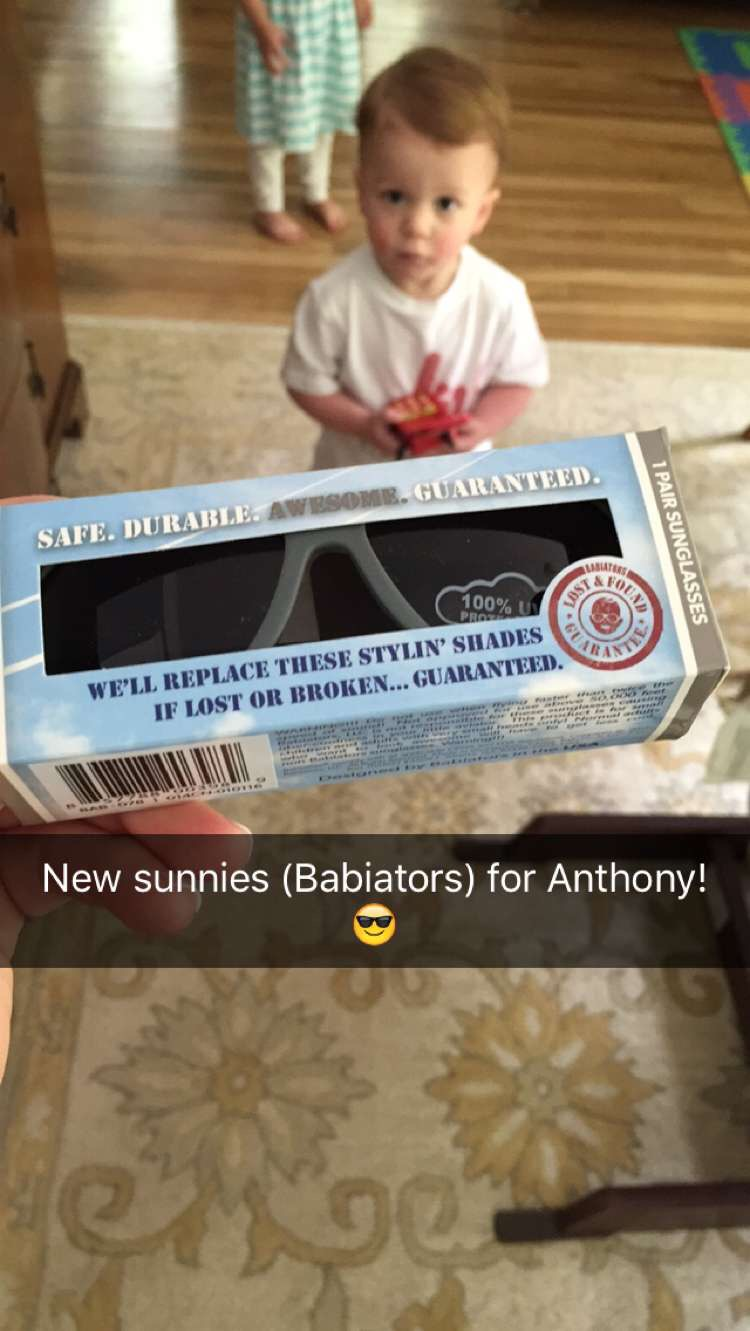 Anthony is Ready for Fun and Sun with Babiators Sunglasses and a Giveaway!