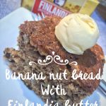 National Dairy Month:  Banana Nut Bread Recipe Featuring Finlandia
