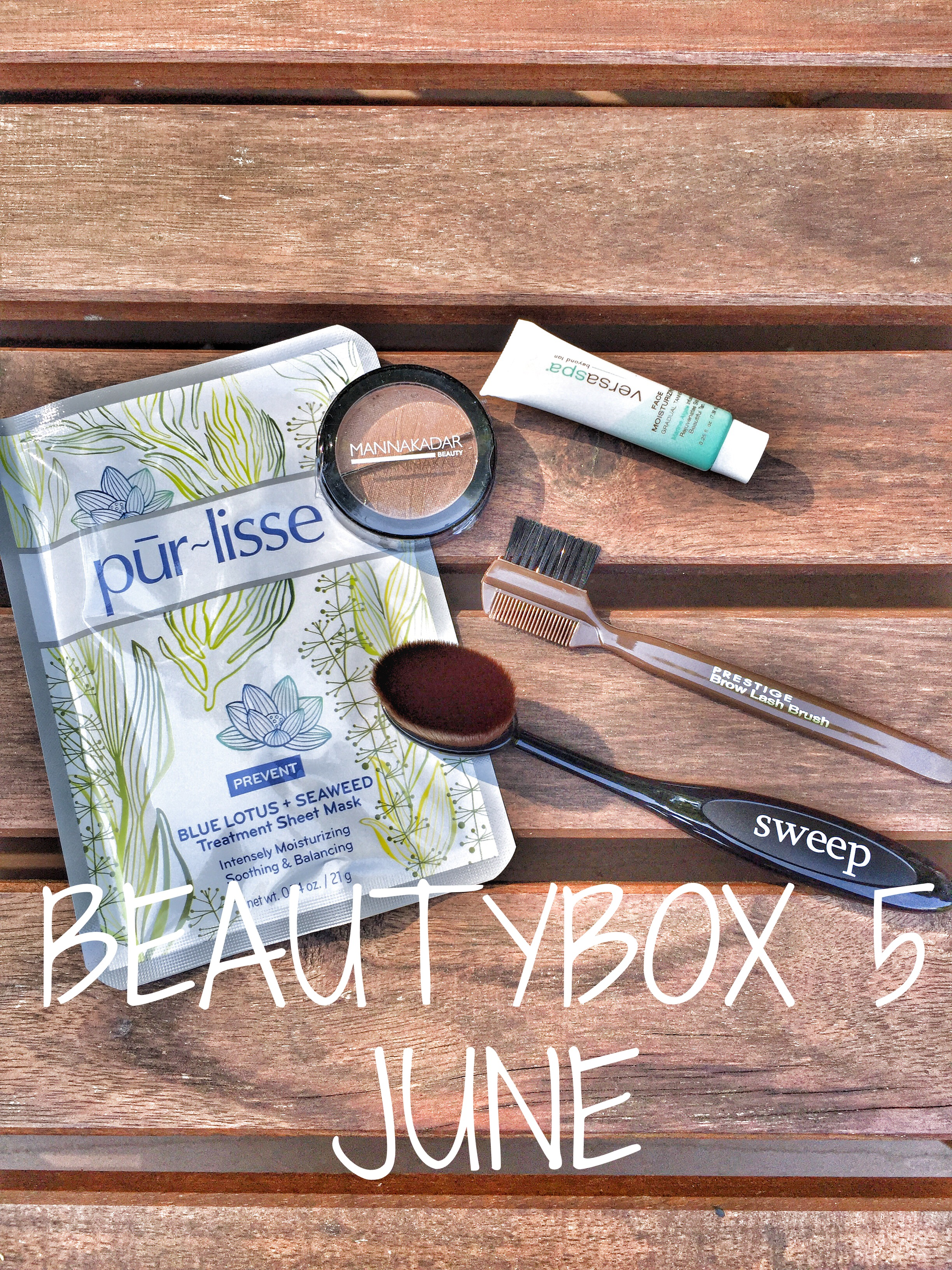 Made in the Shade // Beauty Box 5 – June Unboxing