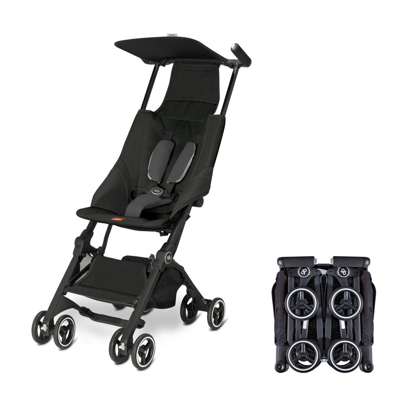The gb Pockit is the Most Compact Stroller in the World!