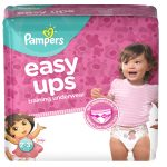 Potty Training // with NEW Pampers Easy Ups – Giveaway