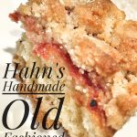 Holiday Gift Guide // Hahn's Handmade Old Fashioned Crumb Cake