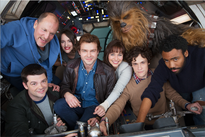 HAN SOLO – A NEW STAR WARS STORY BEGINS PRODUCTION!!!
