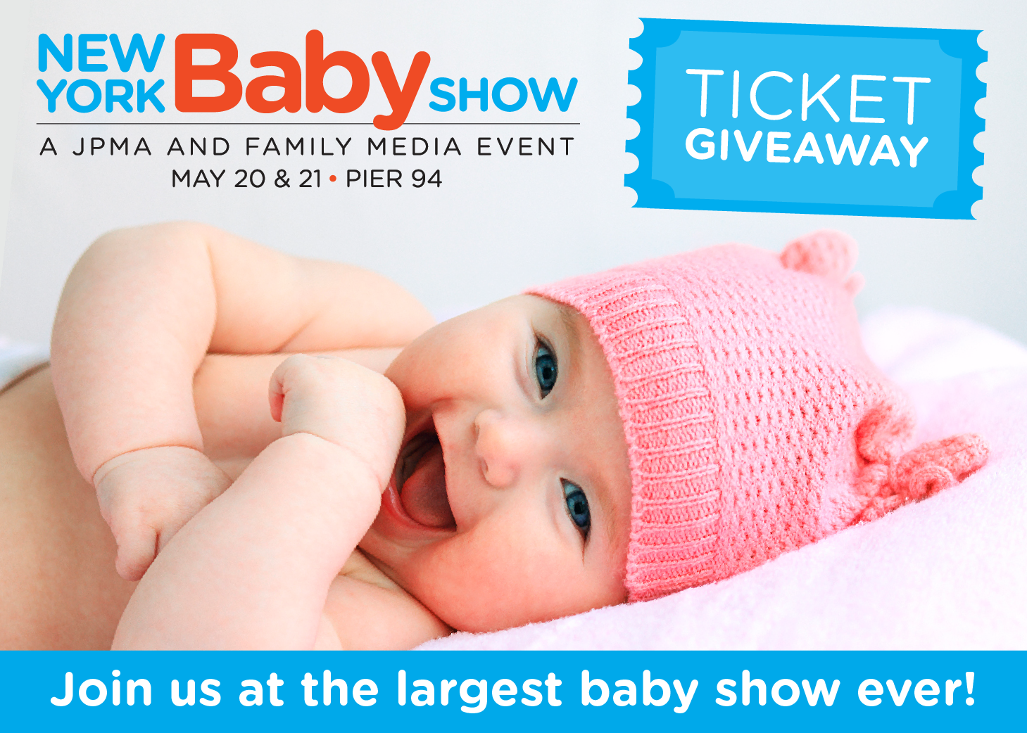 Ticket Giveaway // The 2017 New York Baby Show