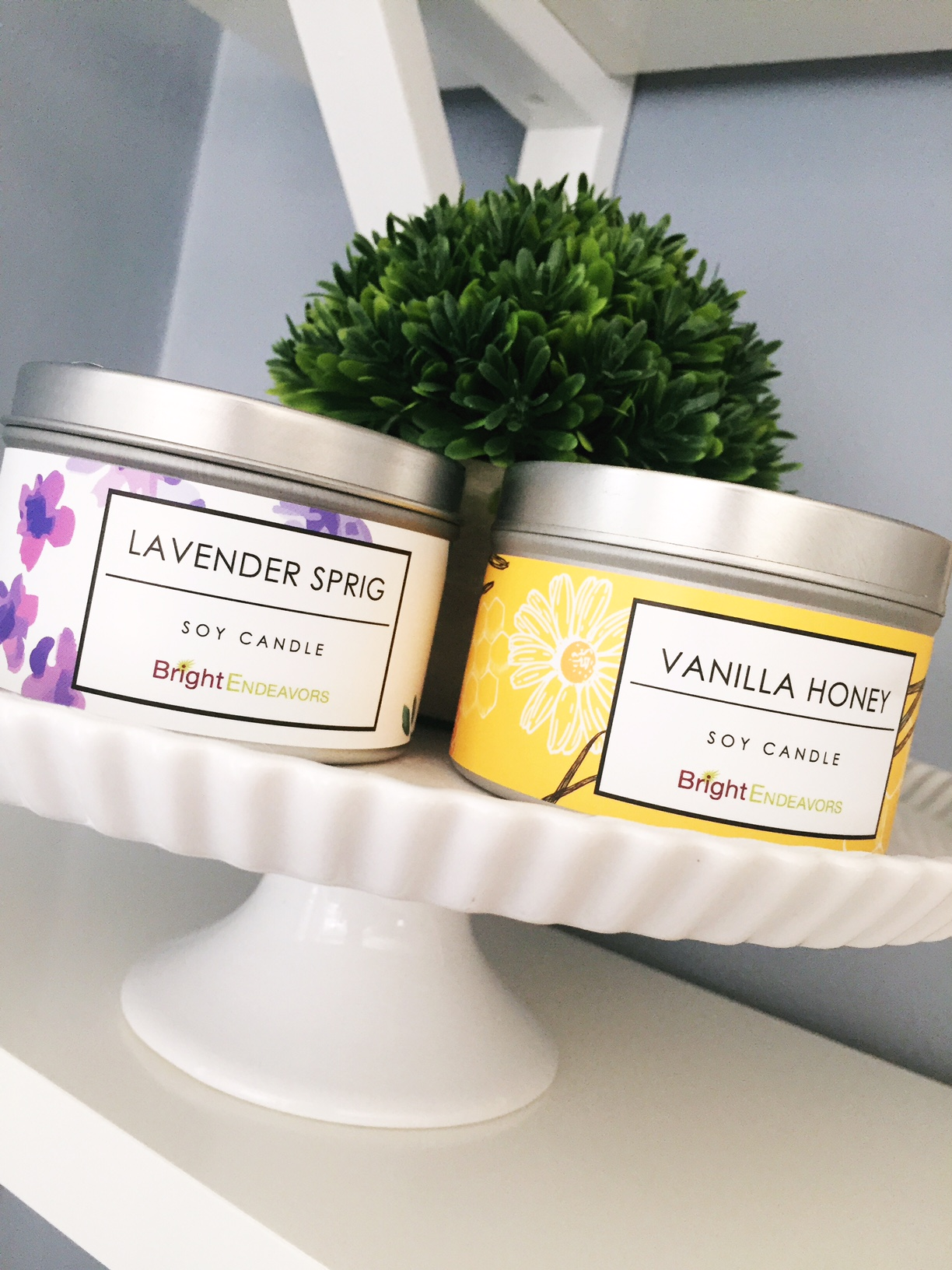 Mother's Day Gift Idea // Bright Endeavors Soy Candles