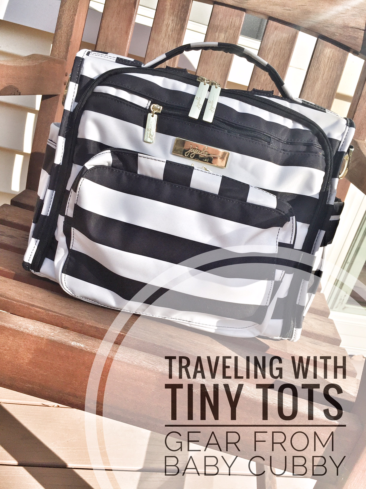 Traveling With Tiny Tots // Gear from Baby Cubby