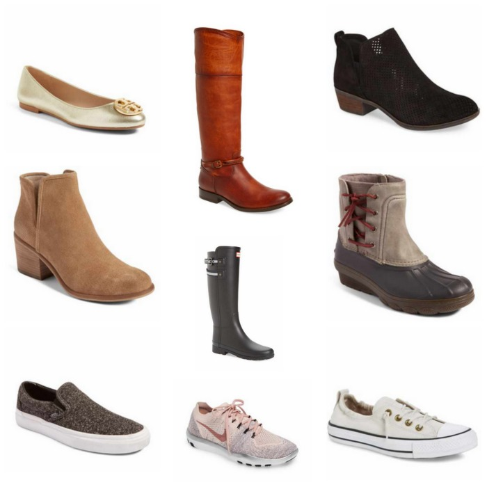 26e89e08388 Barris Block Heel Bootie    Chuck Taylor All Star Shoreline Peached Twill  Sneaker    Tory Burch Claire Ballerina Flat    NIKE Free Focus Flykint 2  Bionic ...