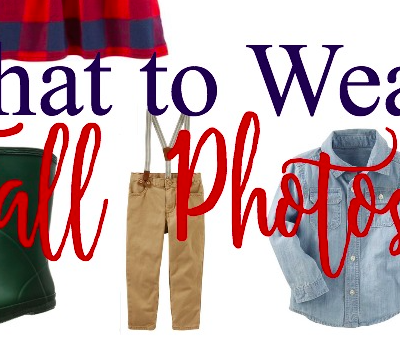 Fall Family Photo Fashion Inspiration